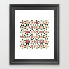 Sushi (That's How He Rolls) Framed Art Print