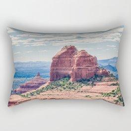 Sedona Red Rocks Rectangular Pillow