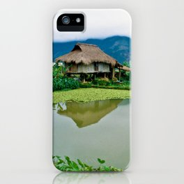 Mountain Village in Vietnam iPhone Case