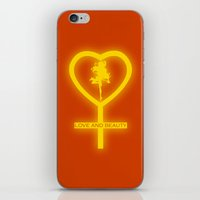 sailor venus iPhone & iPod Skins featuring Sailor Venus by trekvix