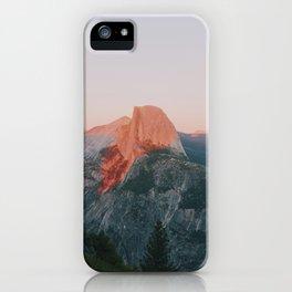 Half Dome Alpenglow iPhone Case