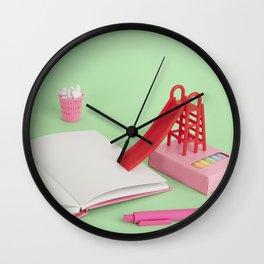 Professional procrastinator Wall Clock