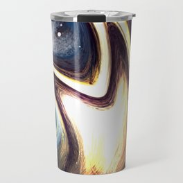returning to the cosmos | Abstract Painting Travel Mug