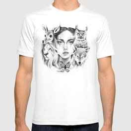 Tangled Existence (Spirit Animals) T-shirt