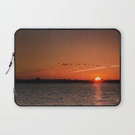 Flight Over the Sun Laptop Sleeve