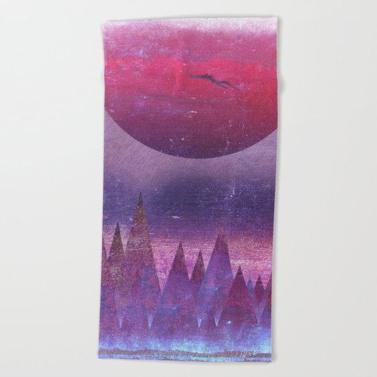 Crepuscule... Beach Towel