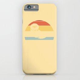 Otter Otter Sweet Vintage Retro iPhone Case