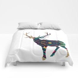 Deer abstract Comforters