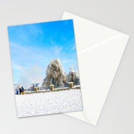 Rainbow in Niagara Falls Stationery Cards