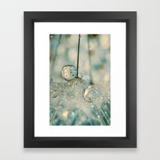 Fairy Blue II Framed Art Print