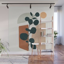 Soft Shapes V Wall Mural
