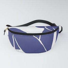Matisse Cut Out Figure #2 Deep Blue Fanny Pack