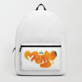 I Love Mango Backpack