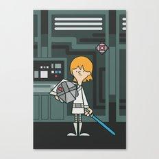 EP4 : Luke Skywalker Canvas Print