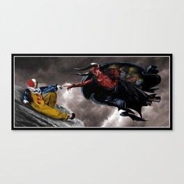 The Creation of Pennywise Canvas Print