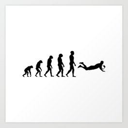 Evolution Rugby #4 - Try Art Print