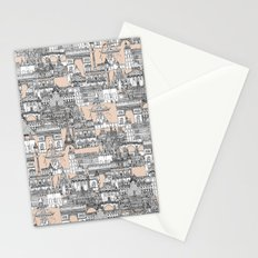 Paris toile sugar pink Stationery Cards