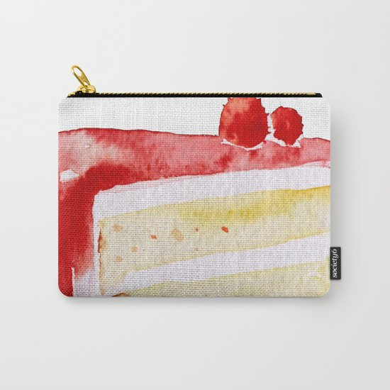 Cherry Cake Carry-All Pouch