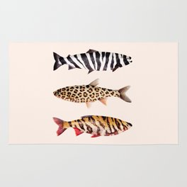 FISH PRINTS Rug