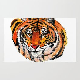 Tiger Painting Rug