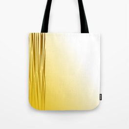 Wild lines on gold. Tiger lines Tote Bag