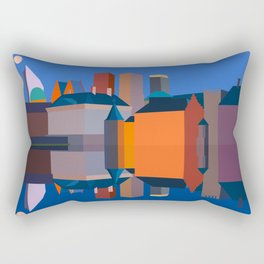 The Hague Double Faced Rectangular Pillow