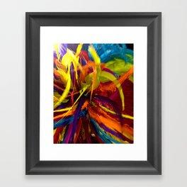 Colors of Carnaval Framed Art Print
