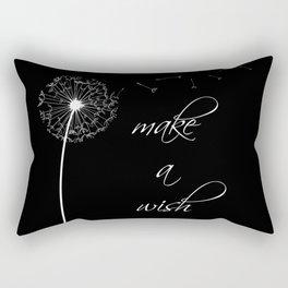 Make a wish - inverted Rectangular Pillow