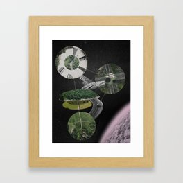 Chymical Station: Escape into Space Framed Art Print