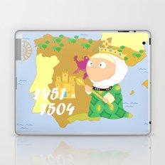 Isabella I of Castile Laptop & iPad Skin