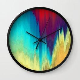 Pixel Sorting 53 Wall Clock
