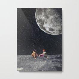 I Gave You The Moon Metal Print
