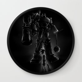 Megatron and Girl Wall Clock
