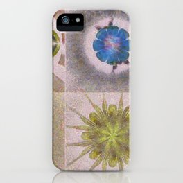 Underbuys Configuration Flowers  ID:16165-093621-68510 iPhone Case