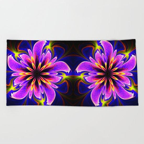 Floral delight Beach Towel