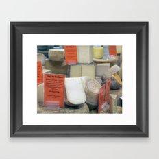 Cheese Shop Framed Art Print