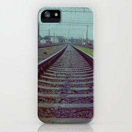 Railroad. Russia. iPhone Case