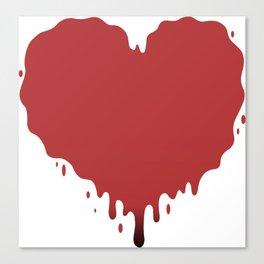 happy valentines Canvas Print
