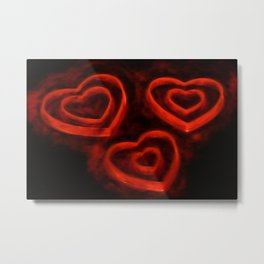 Burning LoveII Metal Print