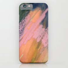 Lucky [2] - a bright abstract mixed media piece iPhone 6s Slim Case
