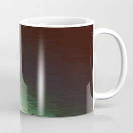 Forest Texture Ombre Coffee Mug