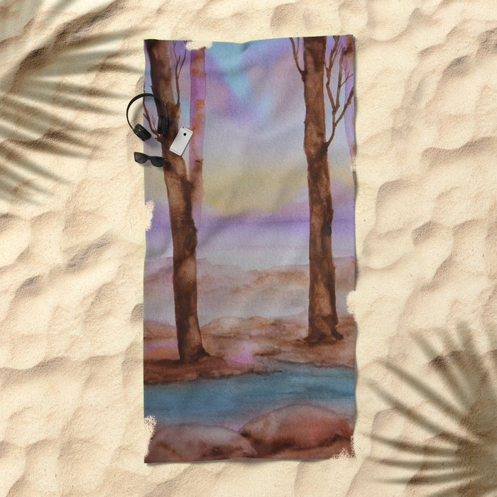 Woods Beach Towel