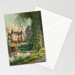 French Chateau Stationery Cards