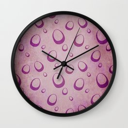 Eggs collection - Warm Eggs Wall Clock