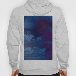 Clouds in a Stormy Blue Midnight Sky Hoody