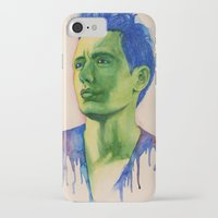 james franco iPhone & iPod Cases featuring James Franco by Kristy Holding