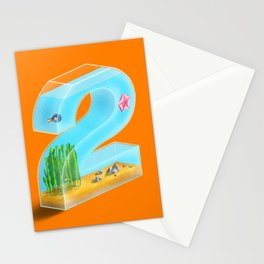 36 - 2 Stationery Cards