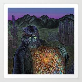 Mojo Wizard Art Print