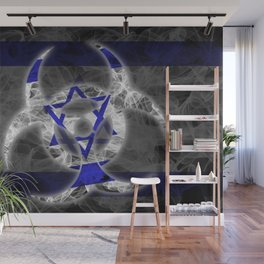 Biohazard Israel, Biohazard from Israel, Israel Quarantine Wall Mural