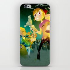 The Secret of Mary Shelley iPhone Skin
